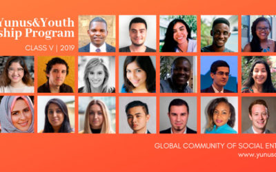 Meet the 2019 Yunus&Youth Fellows