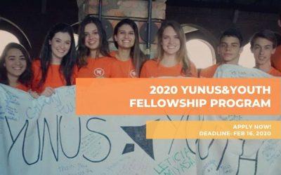 Yunus&Youth Selects up to 35 Social Entrepreneurs for Fellowship Program