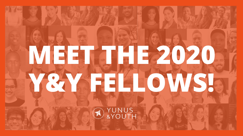 Announcing our newly selected cohort of 2020 Y&Y Fellows!