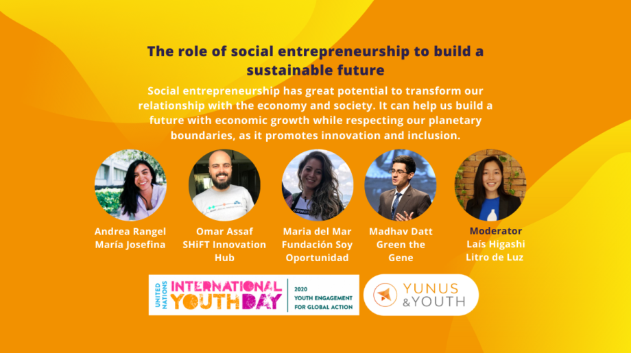The Role of Social Entrepreneurs to Build a Sustainable Future