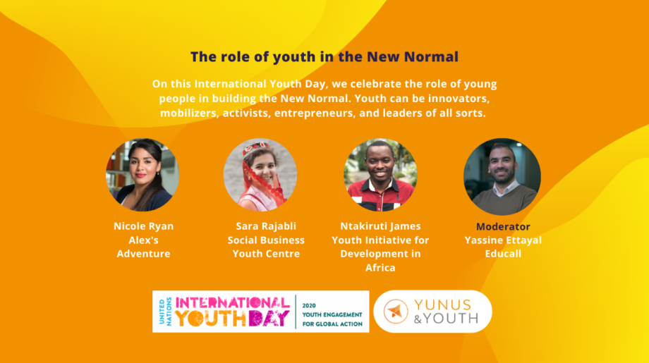 "#YouthDay: The Role of Youth in the ""New"" Normal"